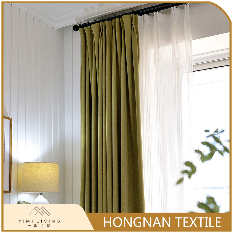 Modern design professional new polyester curtain for door
