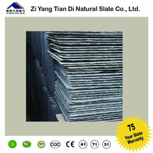 China natural black Roof Slate Tiles Roof Covering