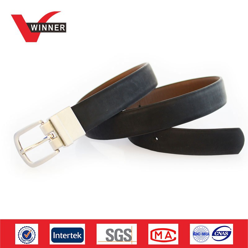 2015 business suits men PU fake leather belt