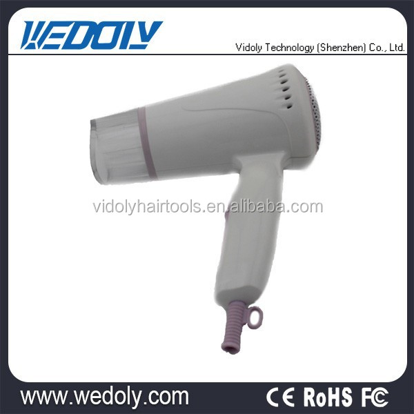 Hot sale foldable ionic hotel hairdryer with low price