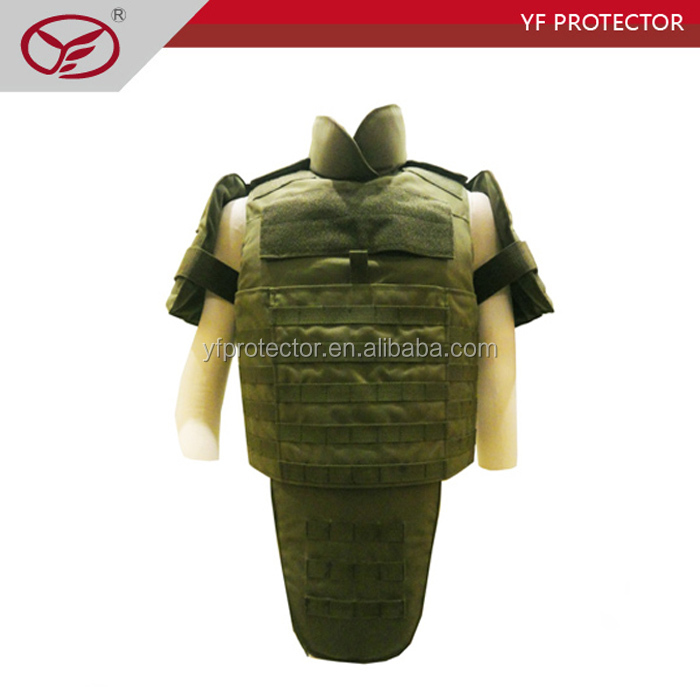 Full Body Bulletproof Jacket/Bullet Proof Tactical Vest/Body Armor