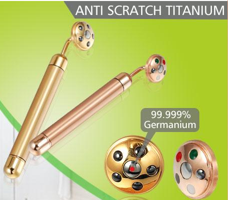 Women gold magnetic germanium beauty product energy beauty bar