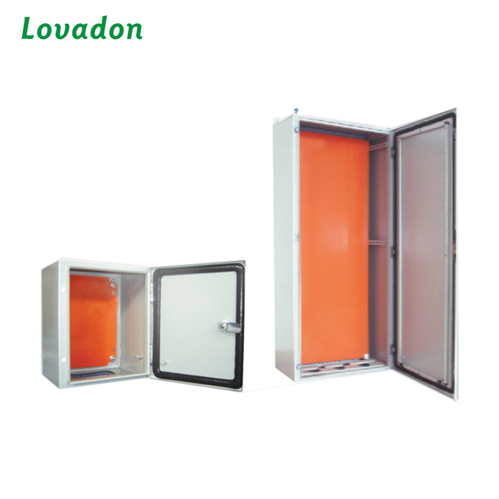 Wall Mounting Sheet Steel Box Double Folded Metal Enclosure Electrical Power Distribution Box