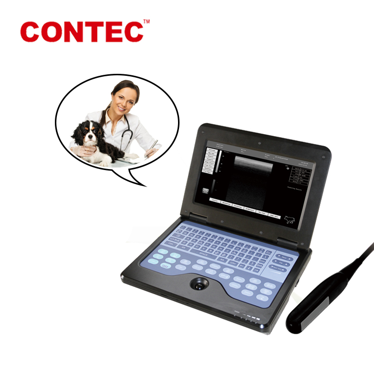 Direct Supply CONTEC CMS600P2-VET portable table veterinary ultrasound equipment