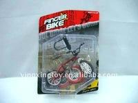 plastic gift toys finger bike