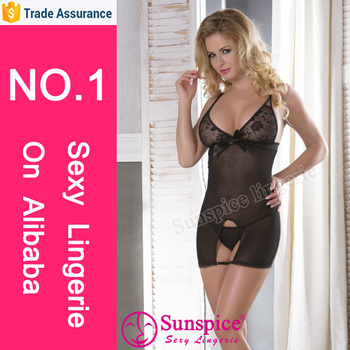 special design open sexy sex babydoll super sexy sexy lingerie with g-string