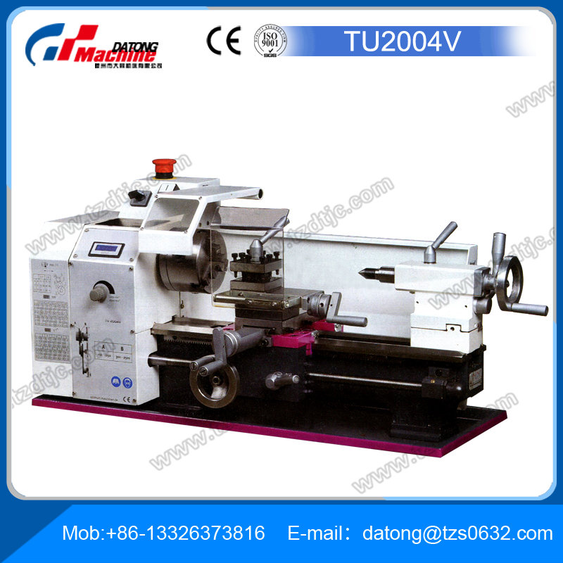 TU2004V Mini Lathe for sale Horizontal Lathe machine