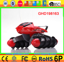 Amphibious vehicles for sale GHD Hot item Amphibious Stunt Tank Big size RC Car Truck for running in water and land