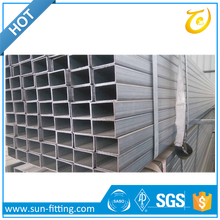 Class B Black Galvanized Square Steel Pipe ASTM A120