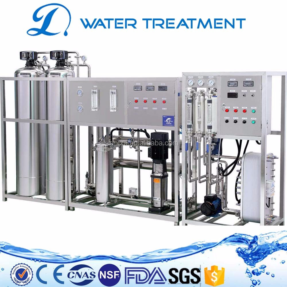 Wholesale price reverse osmosis membrane 2000lph edi and ro plant for sale