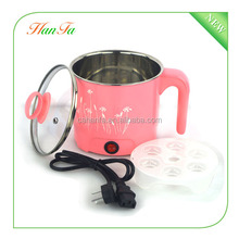 Korean multi-function electric heat pot/Mini fast cooking pot /electric egg steamer
