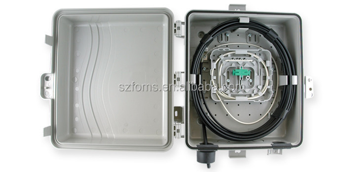 Metal Cable Enclosure Box , 1 - 48 Fibers Optical Fiber Distribution Frame