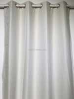 hotel 100% polyester curtain drapery lining 3 pass