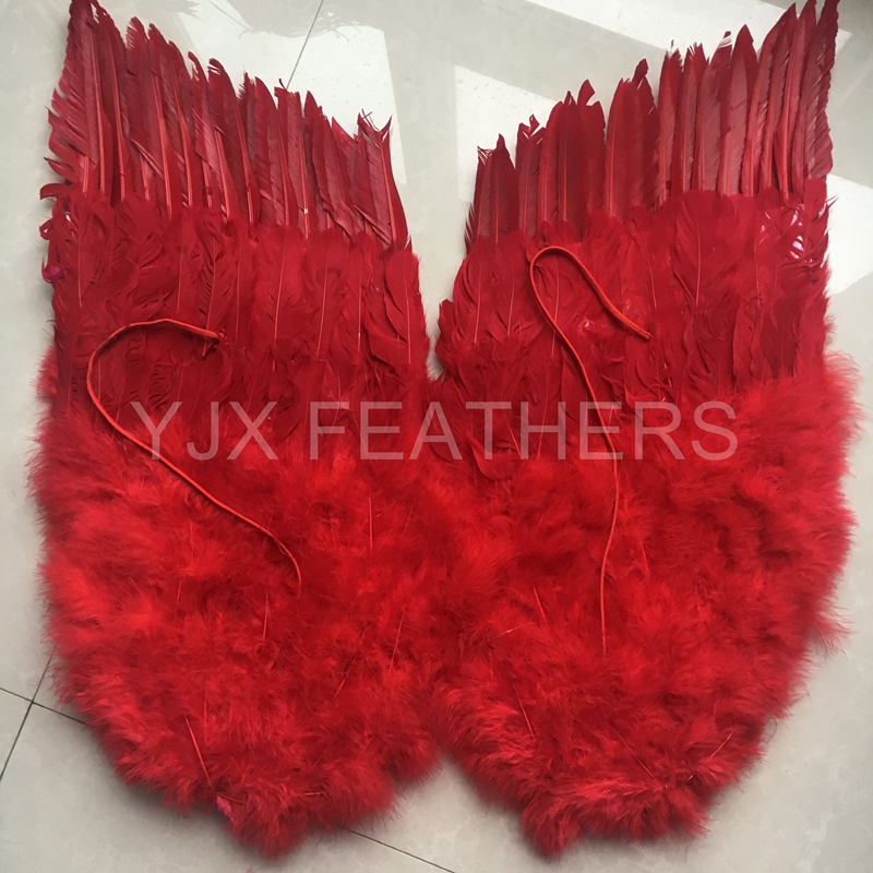 China fashion goose feather craft angel wing