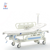 Folding loading ambulance aluminum basket emergency rescue stretcher medical stretcher bed