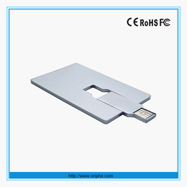 2016 new model christmas gift credit card style usb flash memory stick