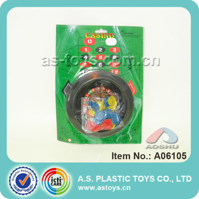 hot sale kids plastic funny casino game different kinds of toys with best gift