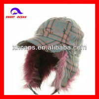 Custom earflap walmart winter hats for sale