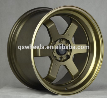deep dish wheel rim 16 inch 4x100 sport rims alloy wheels china for sale