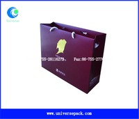 Painted Tote Wine Red Paper Bag Wholesale With High Quality Packing Export Bags