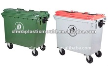 Outdoor Plastic Trash can 660L