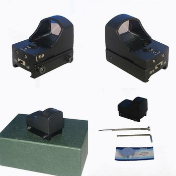 HD-3 tacatical mini red dot sight scope for hunting with 21mm mount
