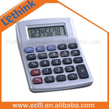New arrival 8 digit supermarket calculator