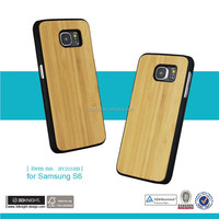 for samsung galaxy s6 edge s4 phone protector real wood bamboo slim case