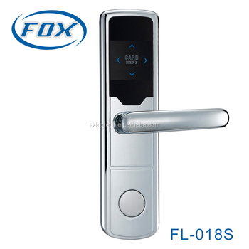 FOX hotel card reader door lock supplier in Shenzhen China