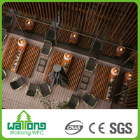 Swimming pool durable wpc hollow composite decking board tiles price in malaysia