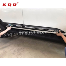 Auto body kit car accessories ABS injection body side molding body cladding for toyota fortuner 2017