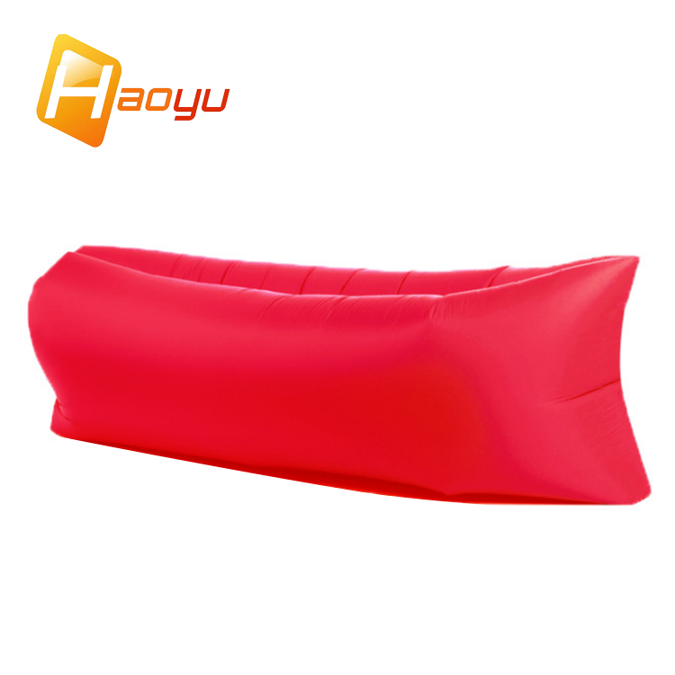 Commercial custom fast cheap red beach intex kids outdoor camping luxury sleep inflatable lounge sofa