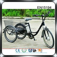 2015 direct supply manufacturer in china 48v 500w electric passenger tricycle three wheel scooter