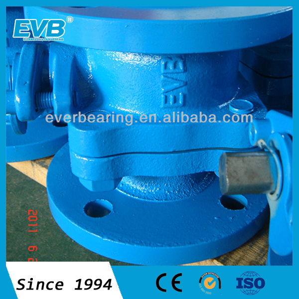 Cast iron flange hydraulic ball valve