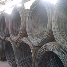 Q195/Q235 and 5.5mm-12mm Gauge Galvanized hot dip steel wire rod
