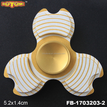 New Hot spinner Fidget Toys EDC Metal Bearing Hand tri-Spinner finger fidget spinner