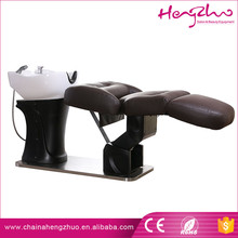 2017 Multifunctional shampoo bed / relaxing adjustable wash hair chair with basin