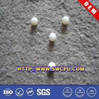 White small solid rubber balls 5mm