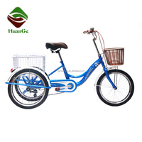 20 inch single speed tricycle bicycle for adult/hot sales three wheel bike bicycle for sale