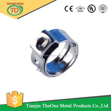 vertical pipe lifting single ear clamp and scaffolding hose clamp in China