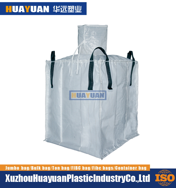 Direct Factory Price Leak proof baffle eco friendly pp bulk bag for asbestos