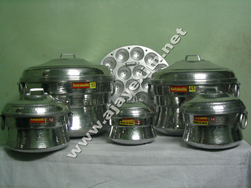 Aluminum Idly Pot Sets