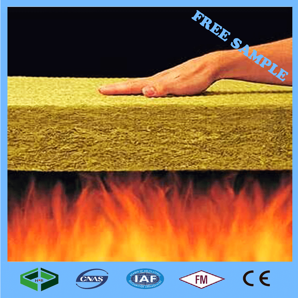 60kg/m3 Rockwool Fireproof Insulation Material Best Price-rock Wool Insulation