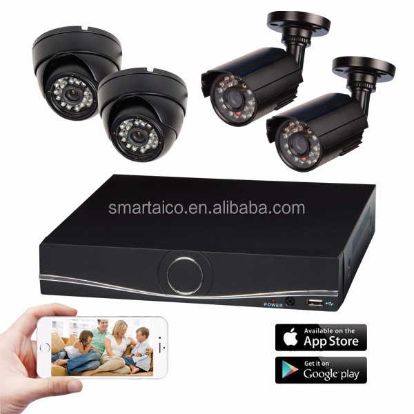<strong>4</strong> <strong>Channel</strong> CCTV Camera <strong>DVR</strong> Kit 4CH 720P AHD Kit for Home CCTV Surveillance Systems