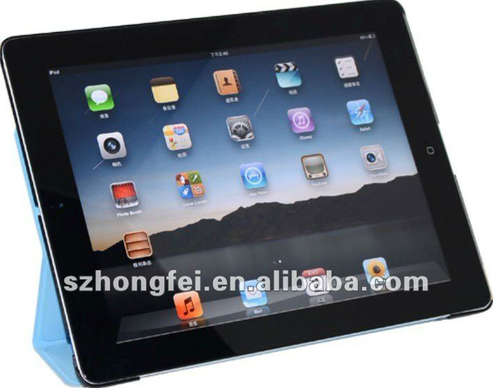 New arrival smart leather case for ipad3