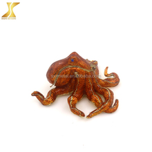 Octopus Metal pewter animal trinket gift pewter alloy jewelry box