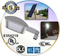 CE RoHS UL DLC premium certified best energy saving 180w led street light
