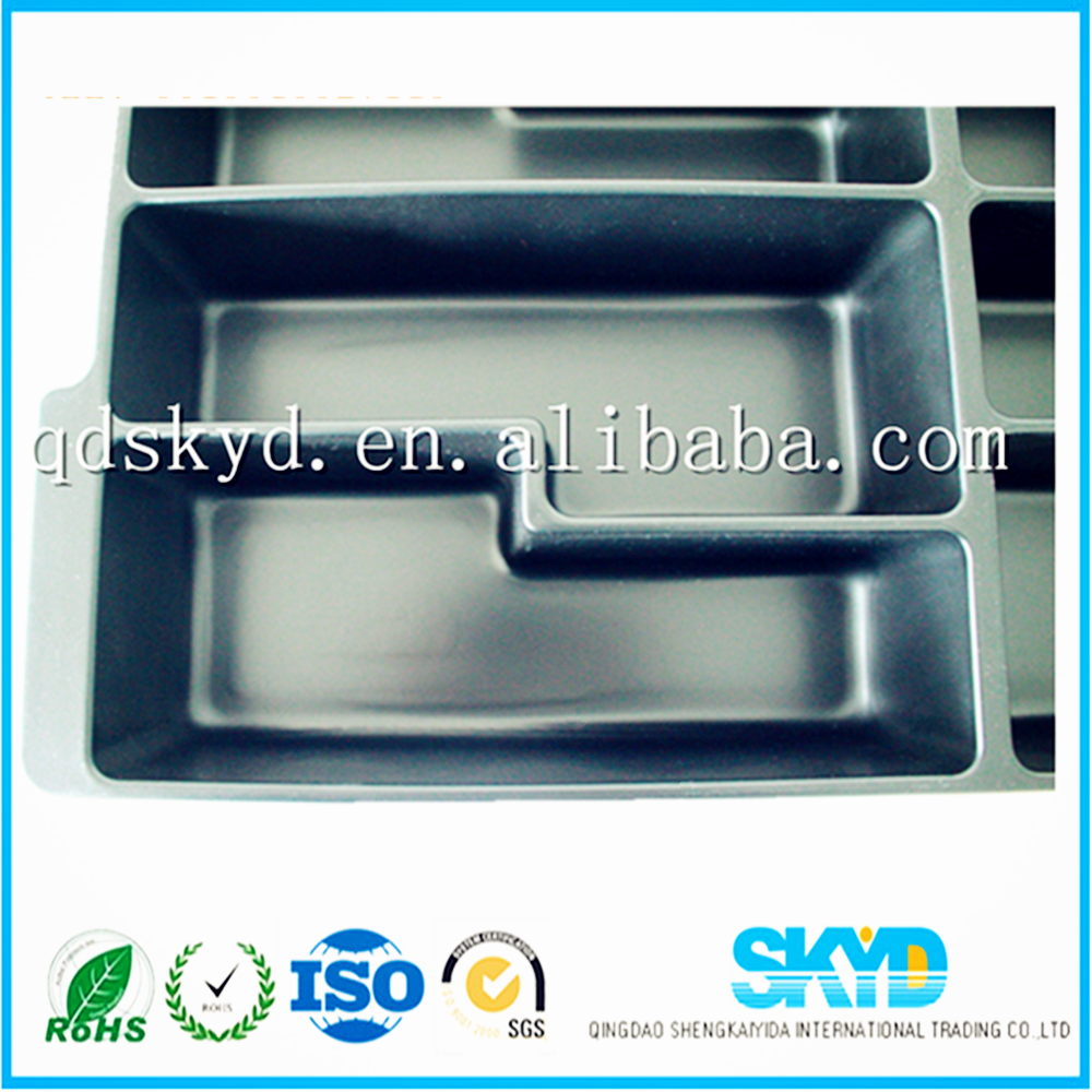 large plastic trays ESD( anti-static)electronic component blister packaging tray