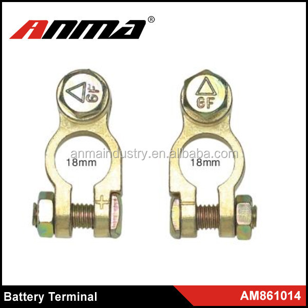 Battery Terminals / Cables / Accessories, GOLD PLATED BATTERY TERMINAL