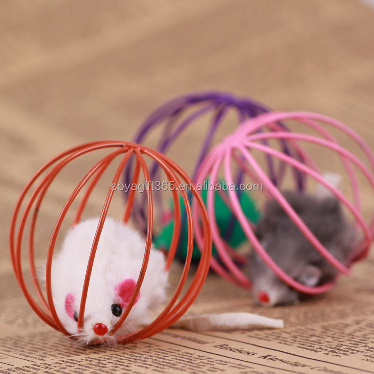 Cat toy interactive mouse sound ball animate Pet product toys For cats